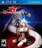 Portada oficial de de Drakengard 3 para PS3