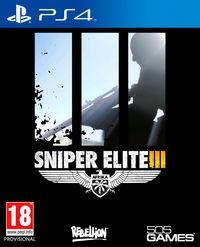 Portada oficial de Sniper Elite III para PS4