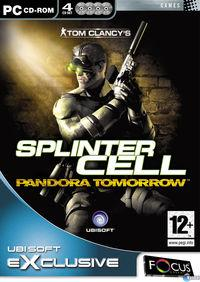 Portada oficial de Splinter Cell: Pandora Tomorrow para PC