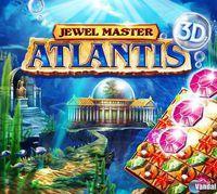 Portada oficial de Jewel Master Atlantis 3D eShop para Nintendo 3DS