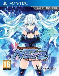 Portada oficial de Hyperdevotion Noire: Goddess Black Heart para PSVITA