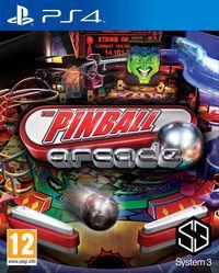 Portada oficial de Pinball Arcade para PS4