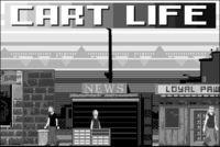 Portada oficial de Cart Life para PC