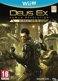 Portada oficial de Deus Ex: Human Revolution - Director's Cut para Wii U