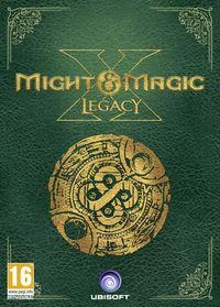 Portada oficial de Might & Magic X Legacy para PC