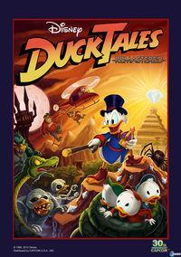 Portada oficial de DuckTales Remastered para PS3