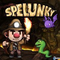 Portada oficial de Spelunky PSN para PS3