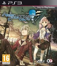 Portada oficial de Atelier Escha & Logy: Alchemist of Dusk Sky para PS3