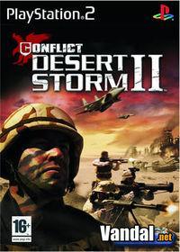 Portada oficial de Conflict: Desert Storm 2 para PS2