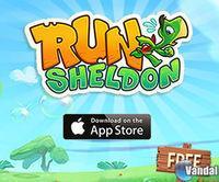 Portada oficial de Run Sheldon! para iPhone