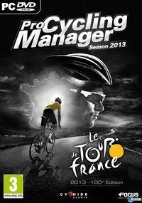 Portada oficial de Pro Cycling Manager 2013 para PC