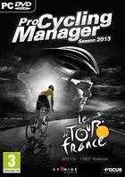 Portada oficial de de Pro Cycling Manager 2013 para PC