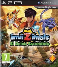 Portada oficial de Invizimals: El Reino Escondido para PS3