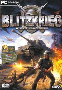 Portada oficial de Blitzkrieg para PC