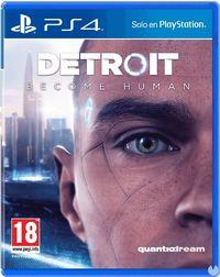 Portada oficial de Detroit: Become Human para PS4