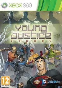 Portada oficial de Young Justice: Legacy para Xbox 360