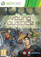 Portada oficial de de Young Justice: Legacy para Xbox 360
