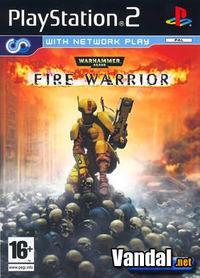 Portada oficial de Warhammer 40.000 FireWarrior para PS2