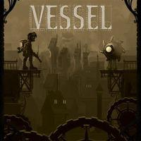 Portada oficial de Vessel PSN para PS3