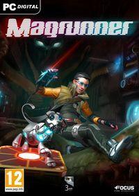Portada oficial de Magrunner: Dark Pulse para PC