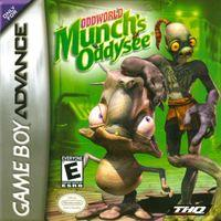 Portada oficial de Munch's Oddysee para Game Boy Advance