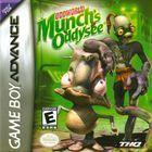 Portada oficial de de Munch's Oddysee para Game Boy Advance