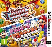 Portada oficial de Puzzle & Dragons Z + Puzzle & Dragons: Super Mario Bros. Edition para Nintendo 3DS