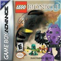 Portada oficial de Lego Bionicle para Game Boy Advance