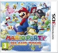 Portada oficial de Mario Party: Island Tour para Nintendo 3DS