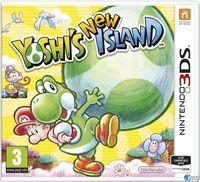 Portada oficial de Yoshi's New Island para Nintendo 3DS