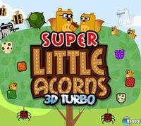 Portada oficial de Super Little Acorns 3D Turbo eShop para Nintendo 3DS