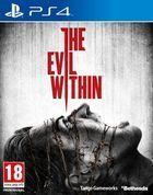 Portada oficial de de The Evil Within para PS4