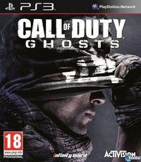 Portada oficial de Call of Duty: Ghosts para PS3
