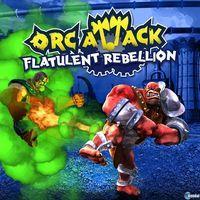 Portada oficial de Orc Attack: Flatulent Rebellion PSN para PS3