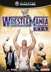 Portada oficial de WWE Wrestlemania XIX para GameCube