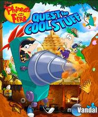 Portada oficial de Phineas and Ferb: Quest for Cool Stuff para Wii