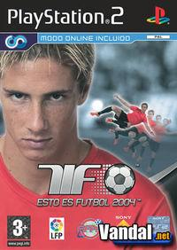 Portada oficial de Esto es Fútbol 2004 para PS2