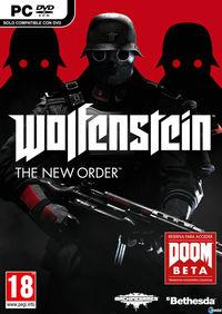 Portada oficial de Wolfenstein: The New Order para PC