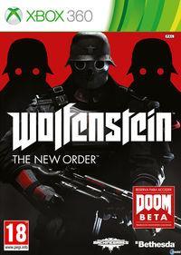 Portada oficial de Wolfenstein: The New Order para Xbox 360