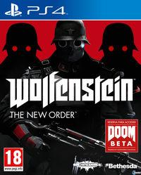 Portada oficial de Wolfenstein: The New Order para PS4
