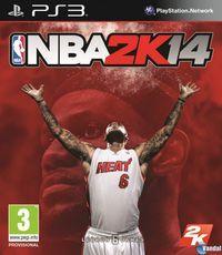 Portada oficial de NBA 2K14 para PS3