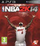 Portada oficial de de NBA 2K14 para PS3