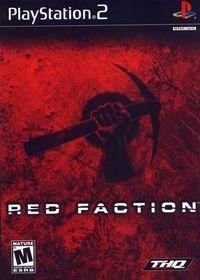 Portada oficial de Red Faction para PS2