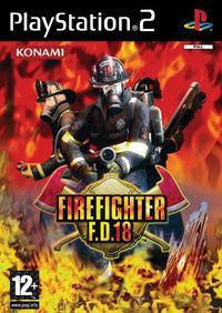 Portada oficial de FireFighter F.D.18 para PS2