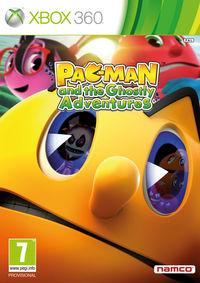 Portada oficial de Pac-Man y las Aventuras Fantasmales para Xbox 360