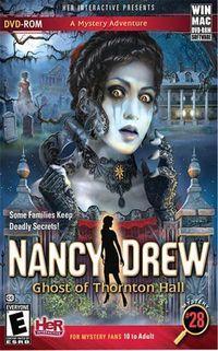 Portada oficial de Nancy Drew: Ghost of Thornton Hall para PC