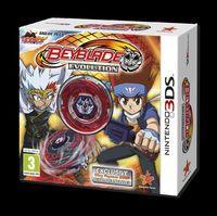 Portada oficial de Beyblade: Evolution para Nintendo 3DS