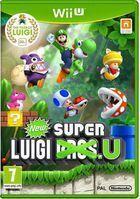 Portada oficial de de New Super Luigi U para Wii U
