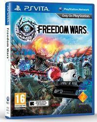 Portada oficial de Freedom Wars para PSVITA