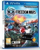 Portada oficial de de Freedom Wars para PSVITA